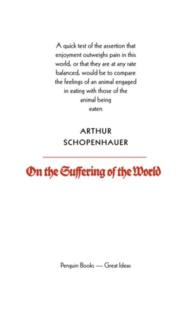 On the Suffering of the World-9780141018942