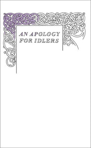 An Apology for Idlers-9780141043968