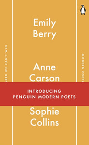 Penguin Modern Poets 1 : If I'm Scared We Can't Win-9780141982694