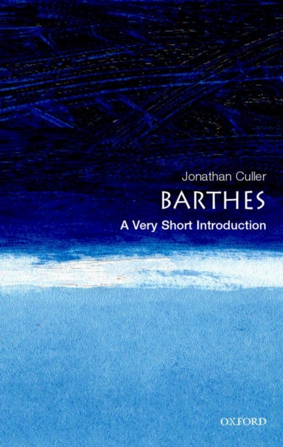 Barthes: A Very Short Introduction-9780192801593