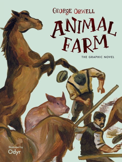Animal Farm : The Graphic Novel-9780241391846