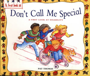 Disability : Don't Call Me Special-9780340911075