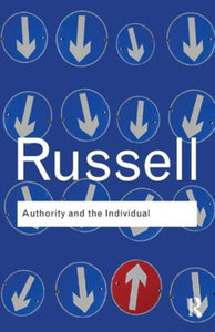Authority and the Individual-9780415487337