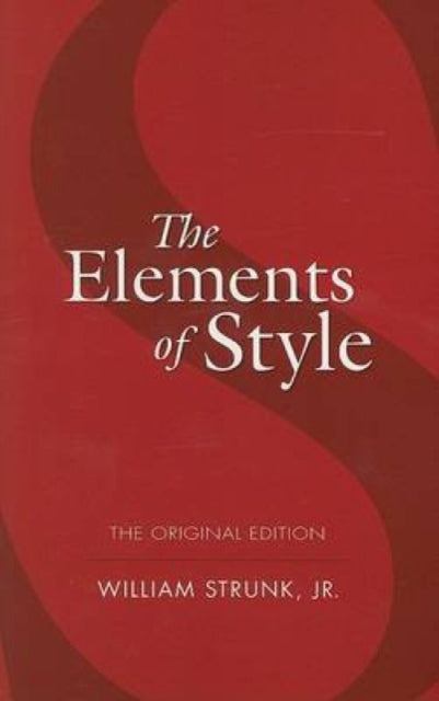 The Elements of Style-9780486447988