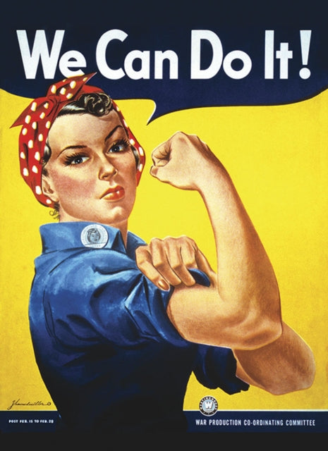 Rosie the Riveter We Can Do It! Notebook-9780486828701