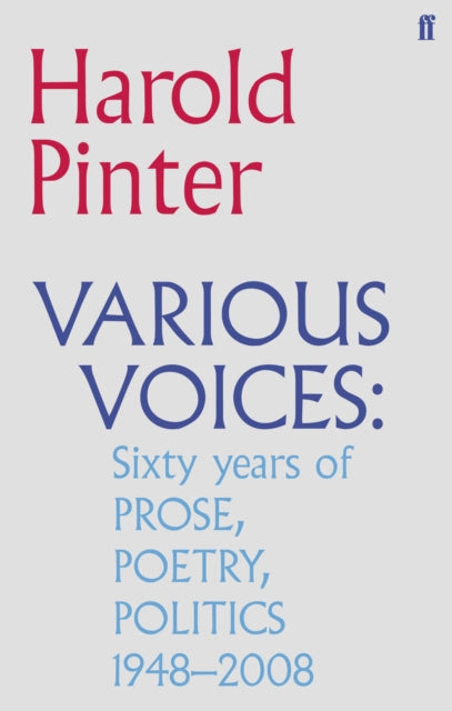Various Voices : Prose, Poetry, Politics 1948-2008-9780571244805