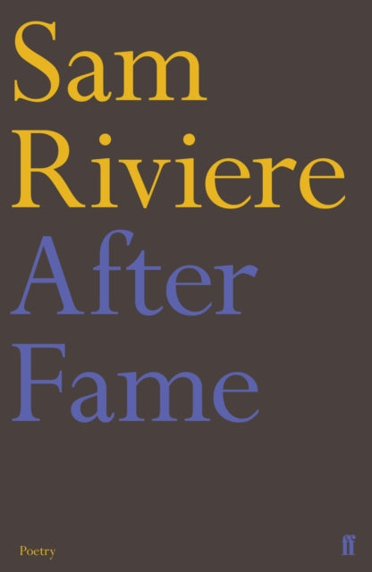 After Fame : The Epigrams of Martial-9780571356928