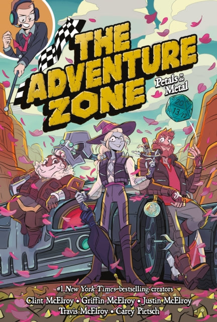 The Adventure Zone : Petals to the Metal-9781250232632