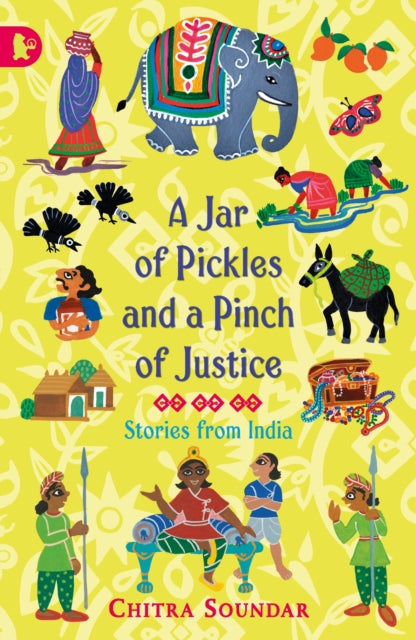 A Jar of Pickles and a Pinch of Justice-9781406364675