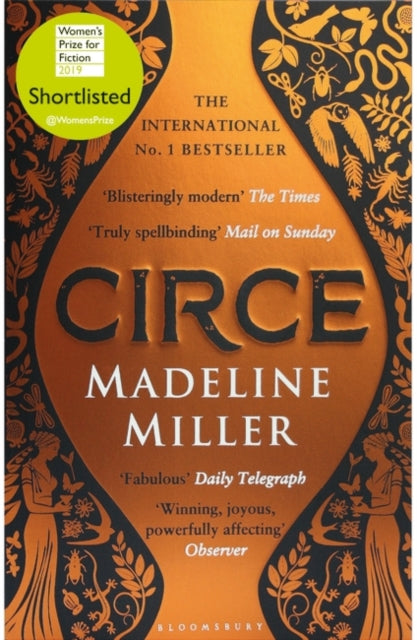 Circe : The International No. 1 Bestseller - Shortlisted for the Women's Prize for Fiction 2019-9781408890042