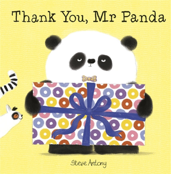 Thank You, Mr Panda-9781444927863