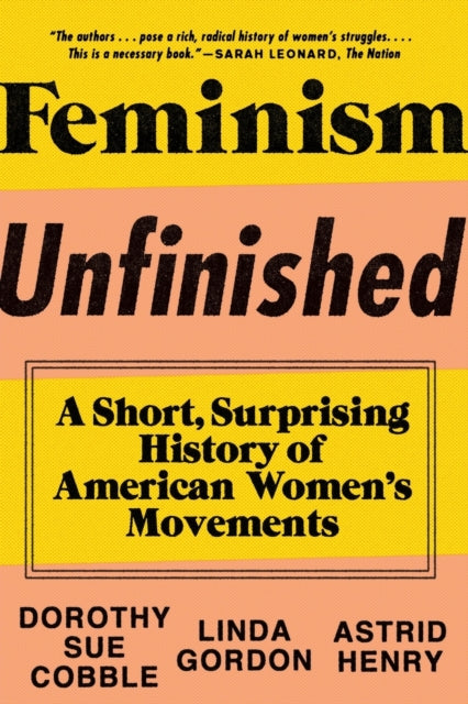Feminism Unfinished : A Short, Surprising History of American Women's Movements-9781631490545