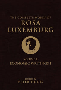 The Complete Works of Rosa Luxemburg : Economic Writings Volume I-9781781687659