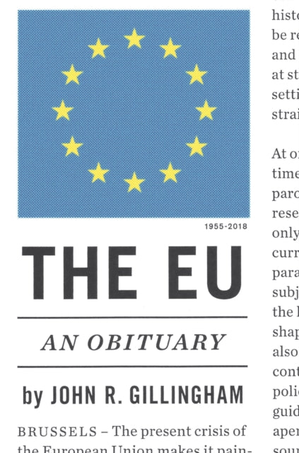 The Eu : An Obituary-9781784784249
