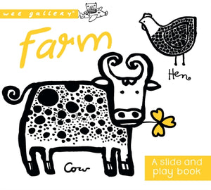 Farm : A Slide and Play Book-9781784936600