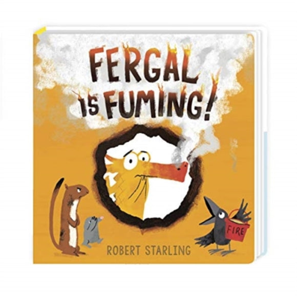 Fergal is Fuming! : Board Book-9781839130137