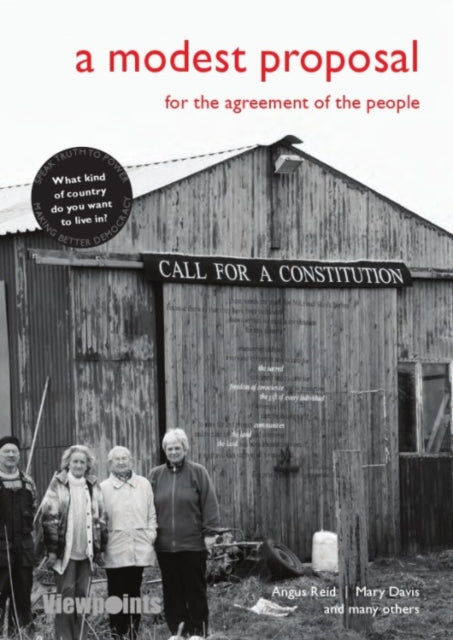 A Modest Proposal : For the agreement of the people-9781910021057