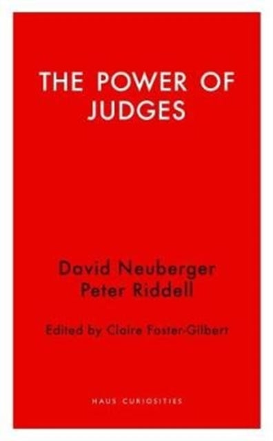 The Power of Judges-9781912208234