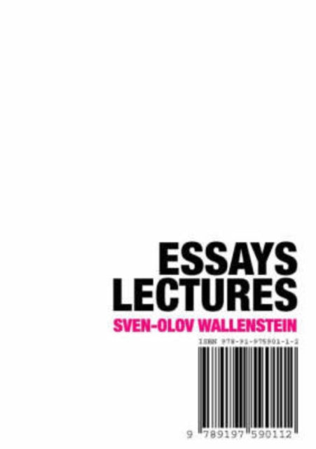 Essays, Lectures-9789197590112