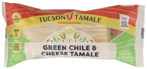 TUSCAN TAMALE CO. GREEN CHILE & CHEESE TAMALE