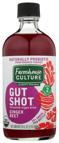 OG2 FARMHOUSE CULTURE GUT SHOTS GINGER BEET