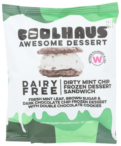 COOLHAUS DAIRY FREE DIRTY MINT CHIP