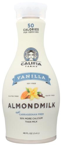 CALIFIA VANILLA ALMOND MILK UNSWEETENED