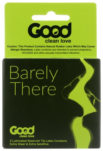 GOOD CLEAN LOVE BARELY THERE CONDOMS