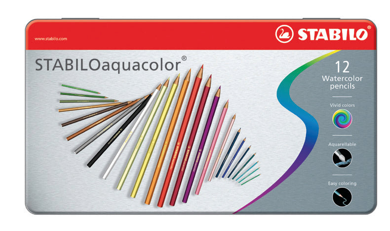 Stabilo Aquacolor Matite Colorate Pz.24
