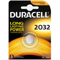 Pila Duracell Dl2032 V 3 Litio Pz. 2