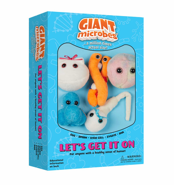 Giant Microbes Lets Get It On Themed Gift Box - Planet Microbe