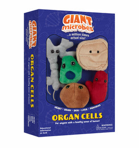 Giant Microbes Organ Cells Themed Gift Box - Planet Microbe
