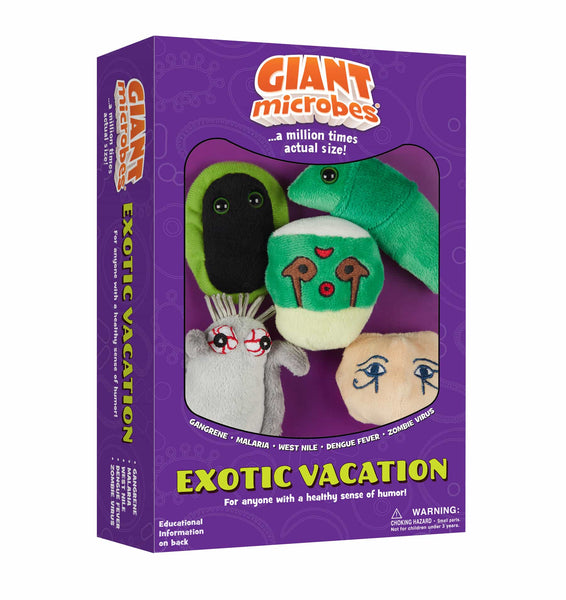 Giant Microbes Exotic Vacation Themed Box Set - Planet Microbe