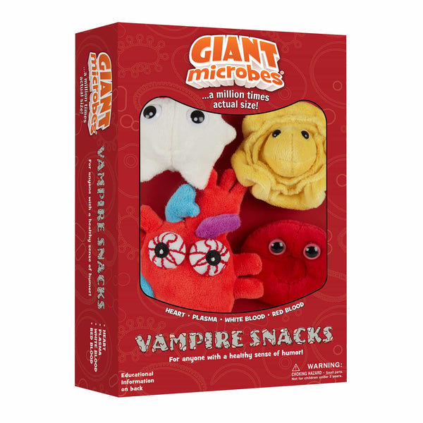 Giant Microbes Vampire Snacks Themed Gift Box - Planet Microbe