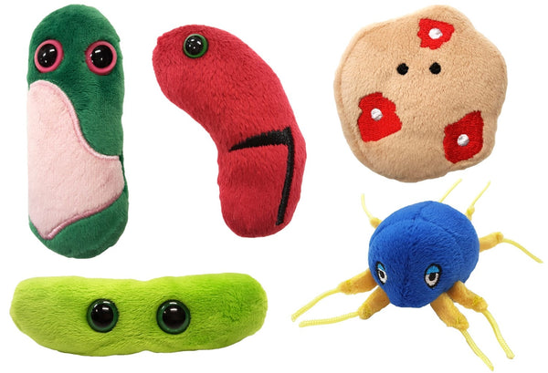 Giant Microbes Ancient Plagues Themed Box Set