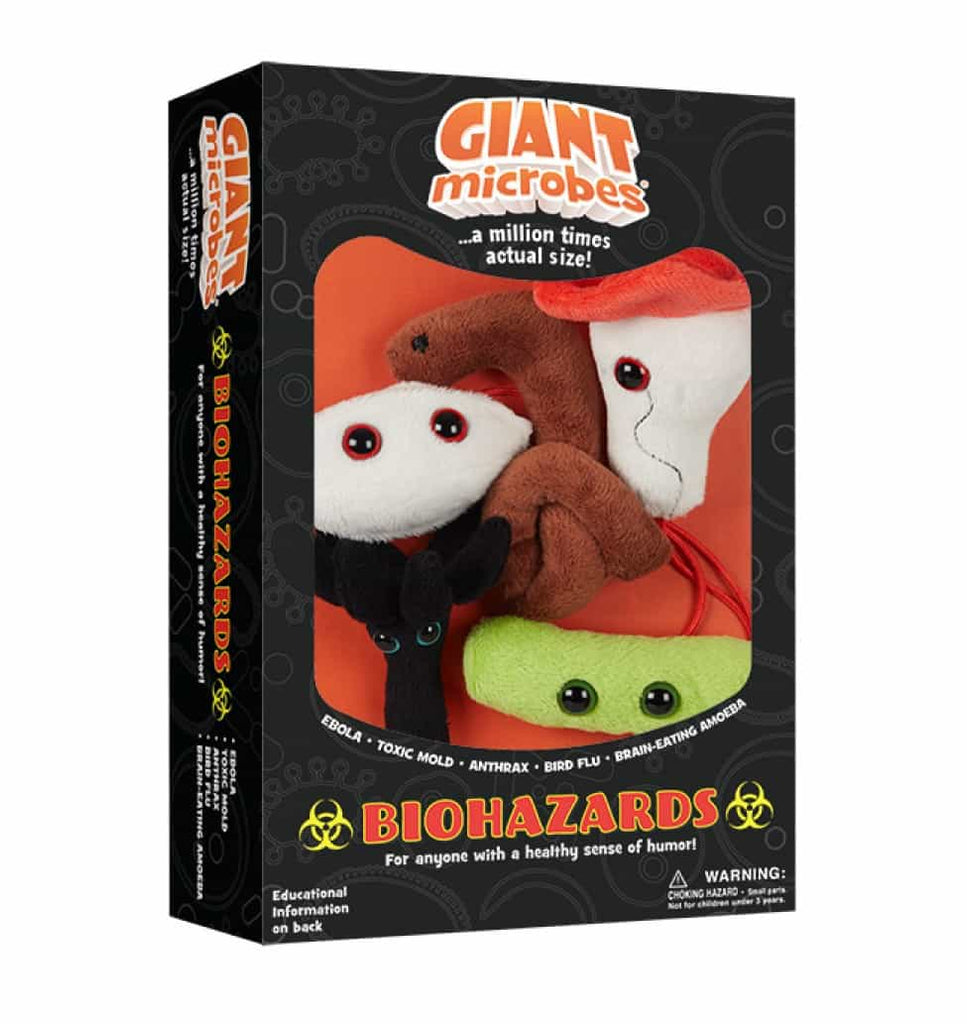 Giant Microbes Biohazard Themed Box Set - Planet Microbe