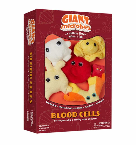 Giant Microbes Blood Cells Themed Box Set - Planet Microbe