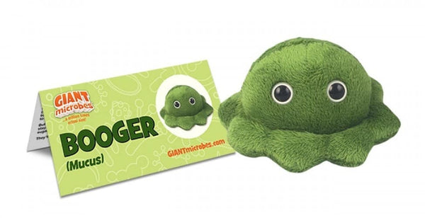 Giant Microbes Booger Bogey Mucus - Planet Microbe