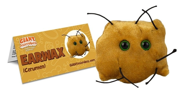 Giant Microbes Original Earwax - Planet Microbe