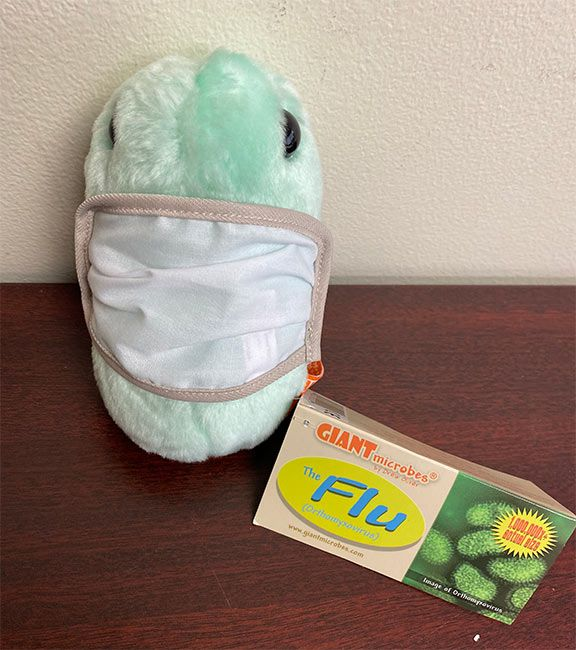Giant Microbes Face Mask (Mask for Microbes)