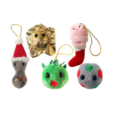 Giant Microbes Naughty Christmas 5 Pack