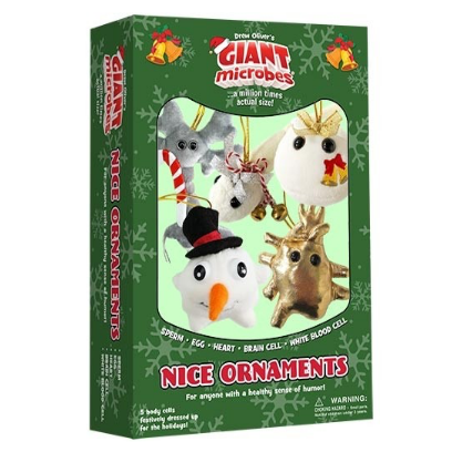 Giant Microbes Christmas Nice Themed Box Set - Planet Microbe