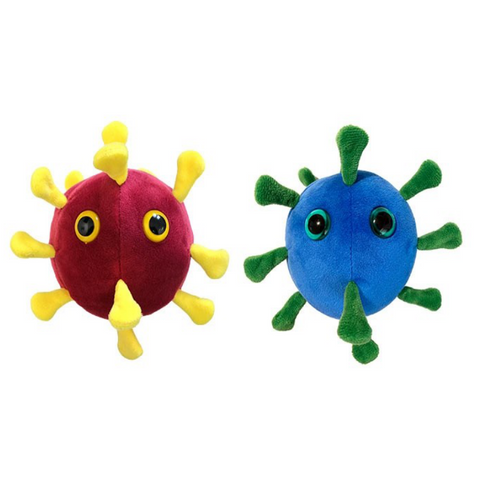 Giant Microbes Corona Coronavirus Covid-19 and SARS Twin Pack