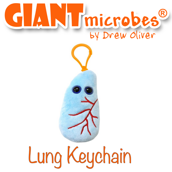 Giant Microbes Awesome Mega Keyring 10 Pack