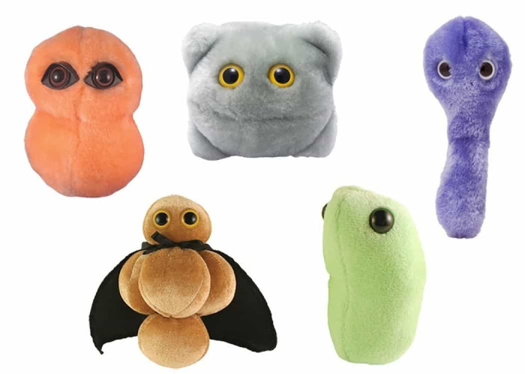 Giant Microbes Super Sick Day Themed Box Set - Planet Microbe