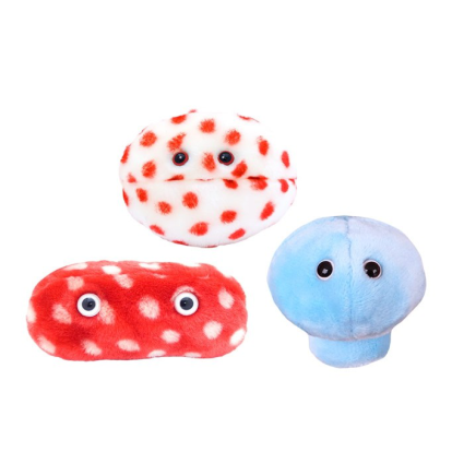 Giant Microbes Vaccine Pack 1 MMR - Planet Microbe