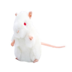 Giant Microbes Original White Lab Mouse - Planet Microbe