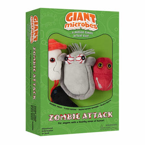 Giant Microbes Zombie Attacks Themed Box Set - Planet Microbe