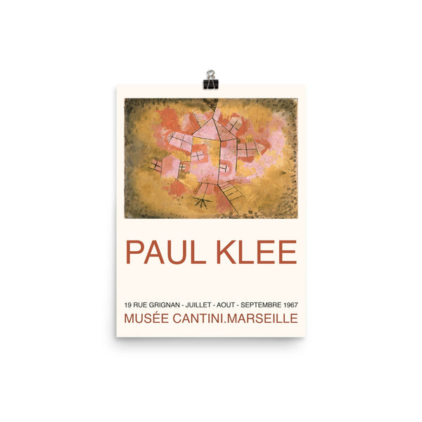 Paul Klee, 1967, Swiss Exhibition Poster,  Expressionism, Cubism, Futurism, Surrealism, Abstraction Print Poster