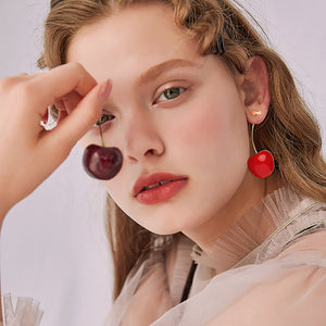 Cute Cherry Earrings